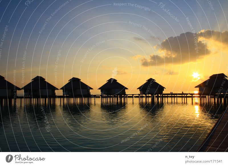 Water Sky Sun Vacation & Travel Far-off places Freedom Island Tourism Infinity Gorgeous Pipe dream