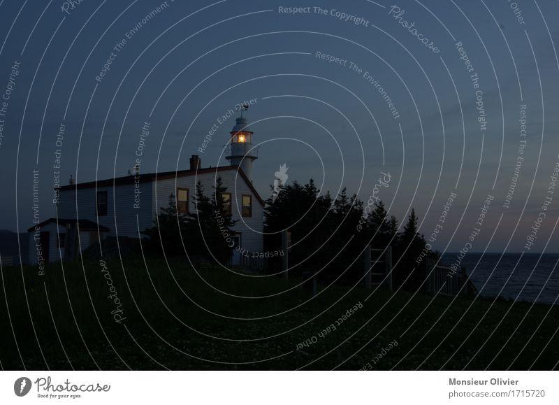 Dark Travel photography Coast Lamp Illuminate Lighthouse Canada Newfoundland