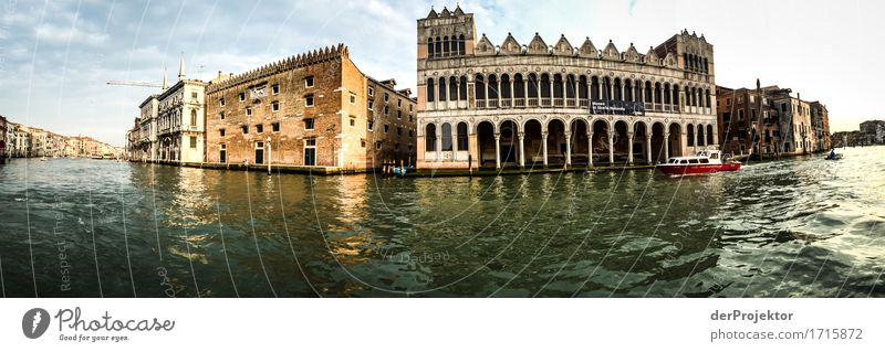 Palace panorama in Venice Vacation & Travel Tourism Trip Adventure Sightseeing City trip Cruise Summer vacation Capital city Port City