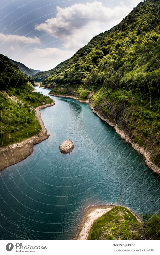 Lake Garda Reservoir Far-off places Freedom Hiking Renewable energy Hydroelectric  power plant Environment Nature Landscape Plant Animal Summer