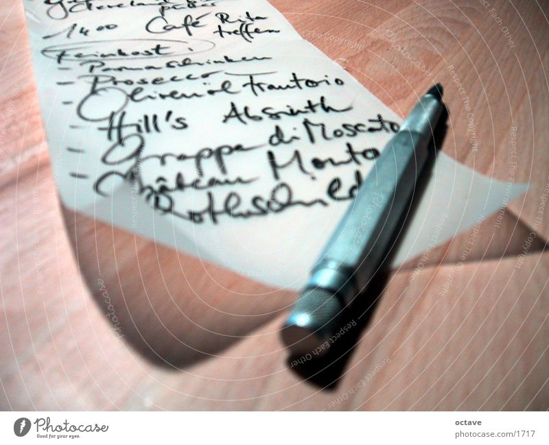 Things Pen Consumption Writing utensil