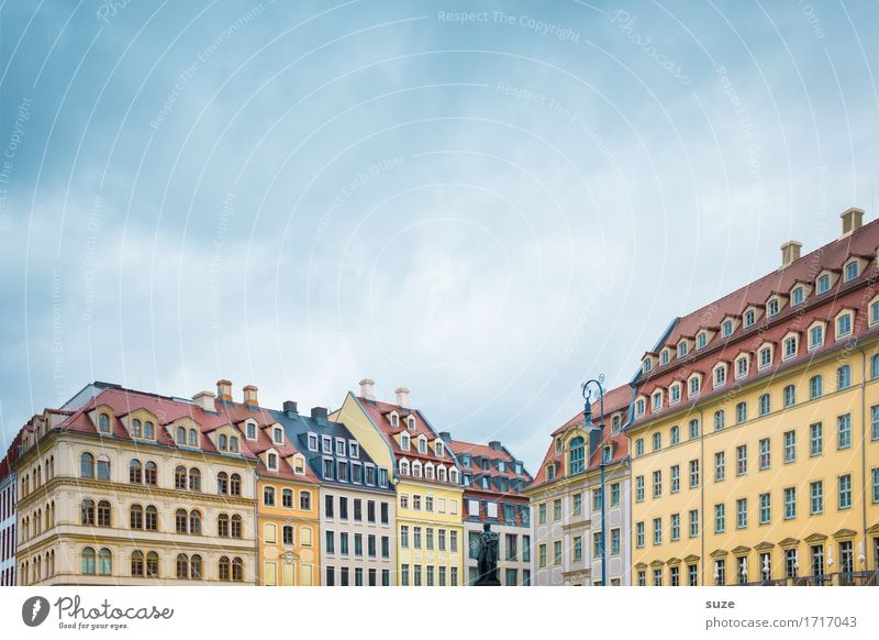 New old Dresden Style Vacation & Travel Tourism Sightseeing City trip House (Residential Structure) Culture Sky Town Capital city Downtown Places Marketplace