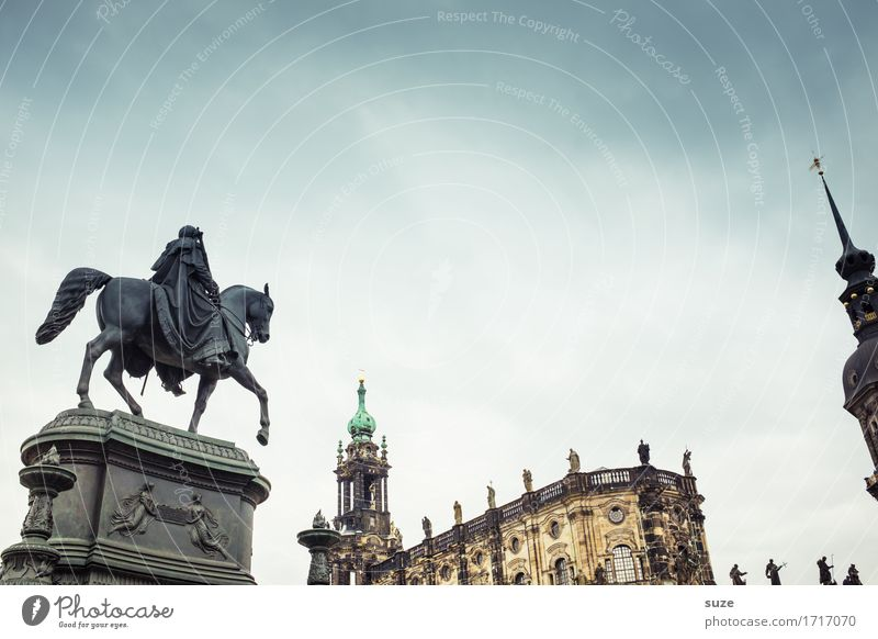 Sky Old Town Religion and faith Architecture Tourism Germany Culture Places Historic Past Tourist Attraction Symbols and metaphors Landmark Horse Monument