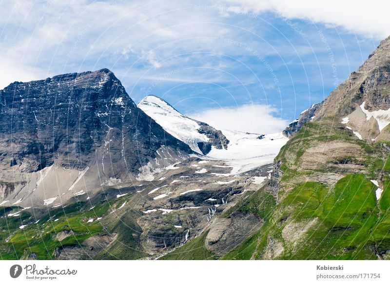 Wiesbach horn Colour photo Exterior shot Deserted Day Sunlight Panorama (View) Vacation & Travel Tourism Summer Summer vacation Environment Nature Landscape
