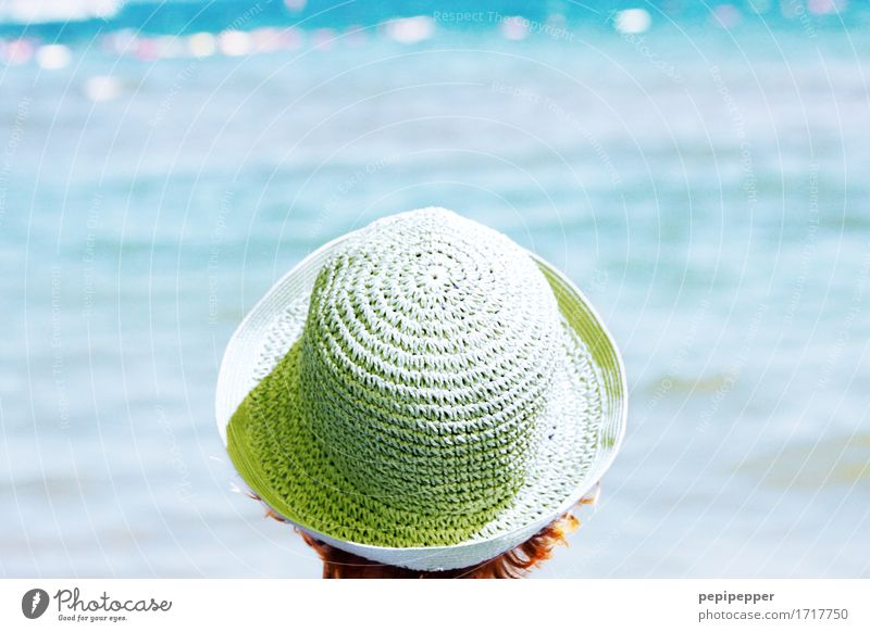 woman with hat Lifestyle Beautiful Wellness Leisure and hobbies Vacation & Travel Tourism Far-off places Freedom Summer Summer vacation Sun Sunbathing Beach