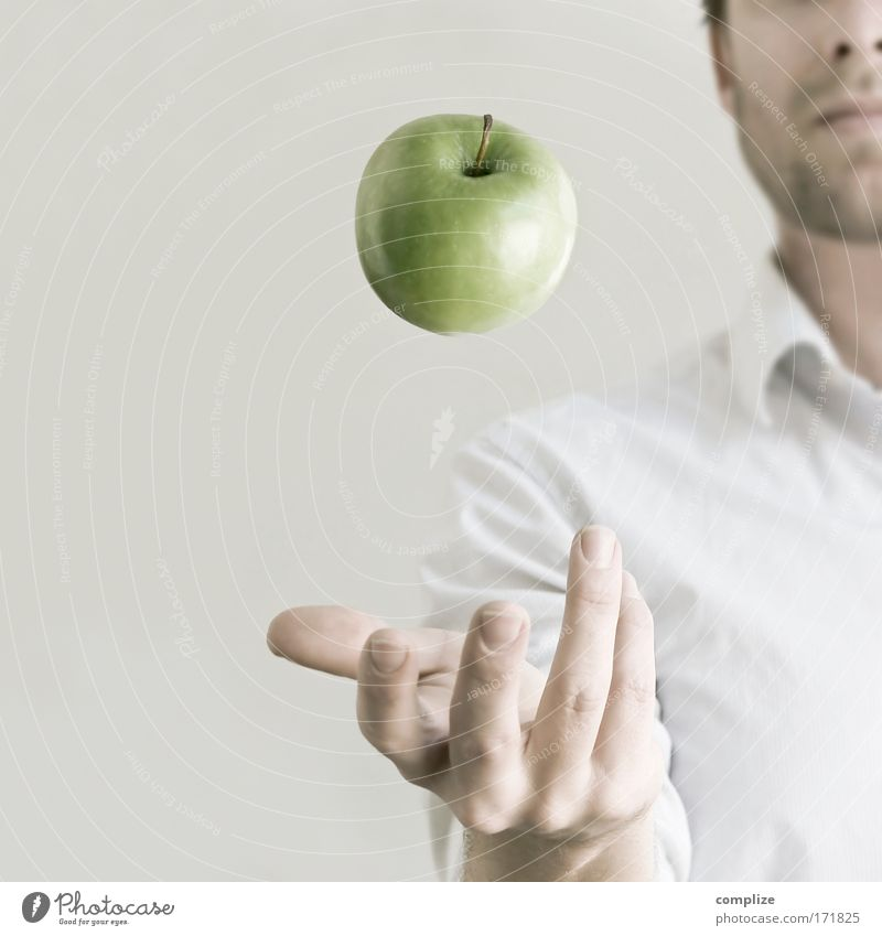To Apple by Day... Food Fruit Nutrition Eating Organic produce Vegetarian diet Healthy Health care Wellness Well-being Living or residing Dentist Masculine Man