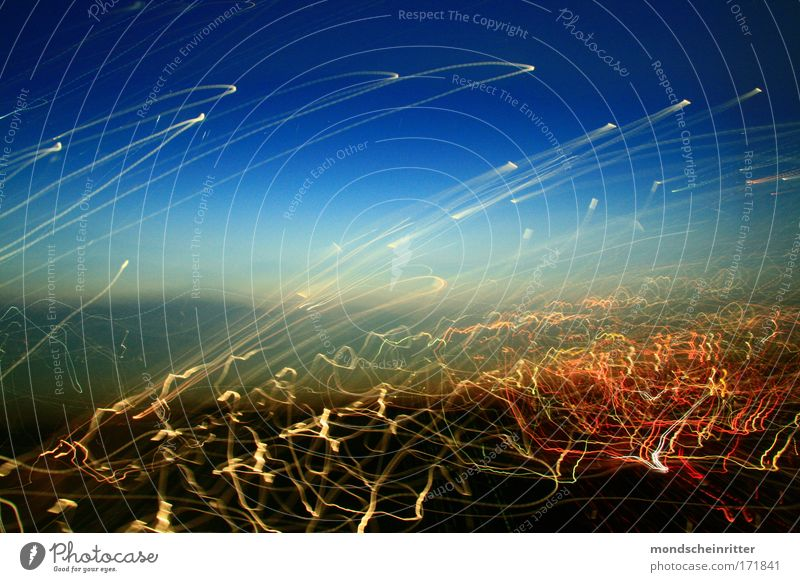 Sky Background picture Tracer path Long exposure Light painting