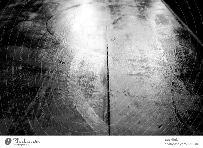 wet table Black & white photo Interior shot Deserted Copy Space left Copy Space right Copy Space top Copy Space bottom Copy Space middle Morning Light Shadow