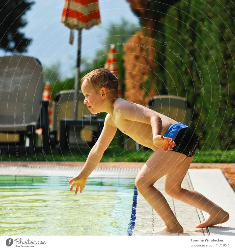 Child Vacation & Travel Sun Summer Joy Playing Boy (child) Jump Leisure and hobbies Swimming & Bathing Happiness Swimming pool Athletic Joie de vivre (Vitality)
