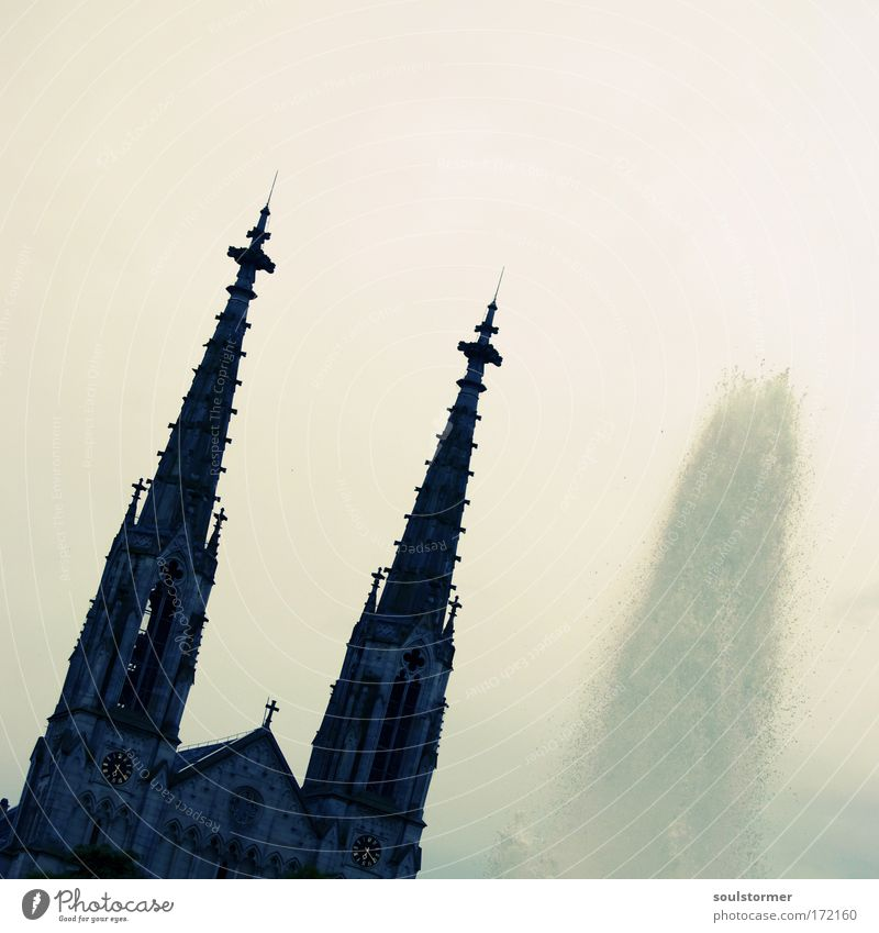 City Sadness Park Building Religion and faith Fear Architecture Germany Safety Church Roof Trust Joie de vivre (Vitality) Force Monument