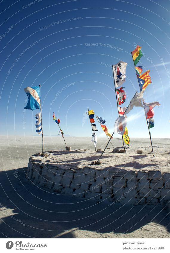 Sky Nature Landscape Exceptional Freedom Stone Horizon Earth Climate Beautiful weather Infinity Longing Desert Flag Wanderlust