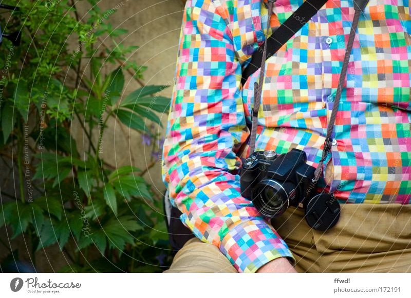 Human being Man Vacation & Travel Calm Senior citizen Relaxation Think Wait Adults Clothing Crazy Sit Tourism Break Camera Uniqueness