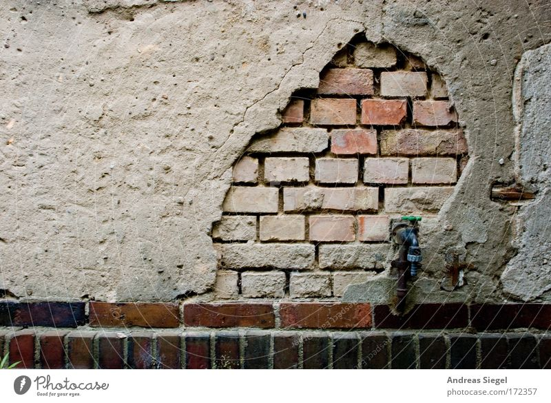 Old House (Residential Structure) Dark Wall (building) Architecture Gray Building Wall (barrier) Sadness Brown Dirty Facade Broken Change Transience Manmade structures