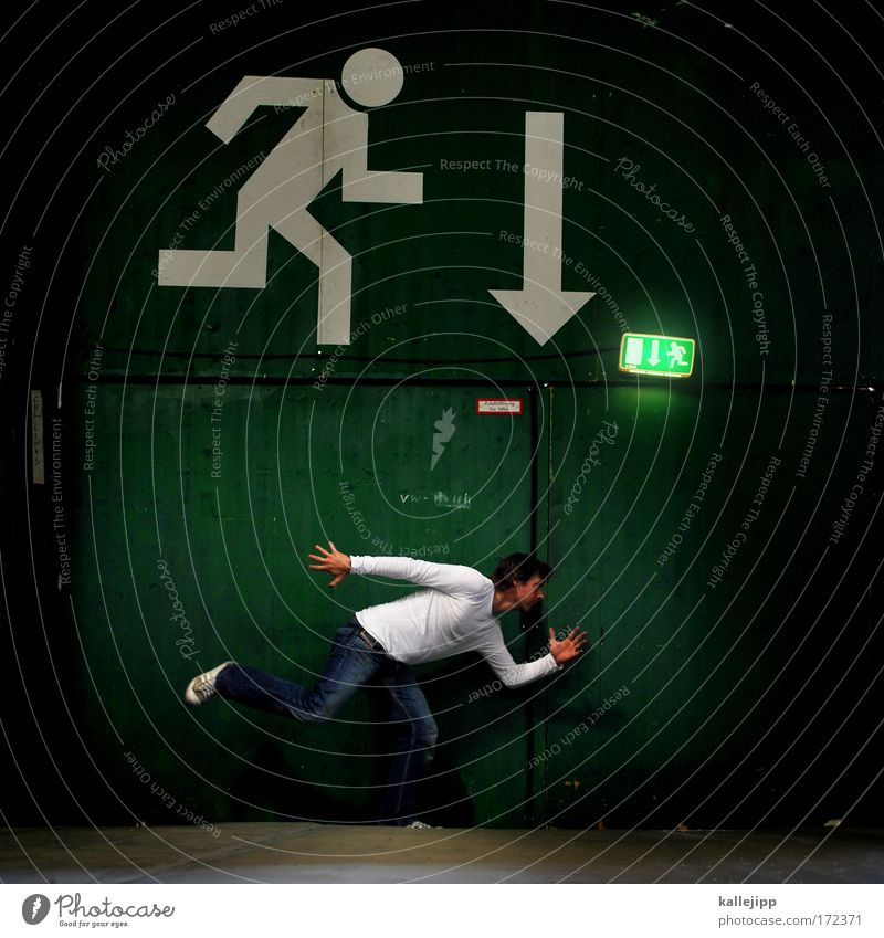Human being Man Adults Death Life Legs Fear Arm Transport Dangerous Safety Arrow Event Fear of death Tunnel Stress