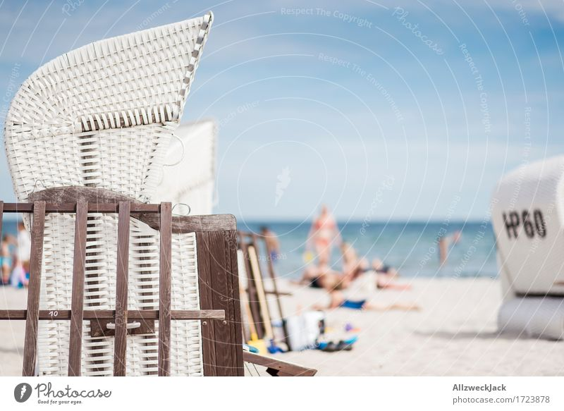 Beachlife 7 Vacation & Travel Tourism Trip Summer Summer vacation Sun Sunbathing Ocean Human being Life Baltic Sea Swimming & Bathing Relaxation