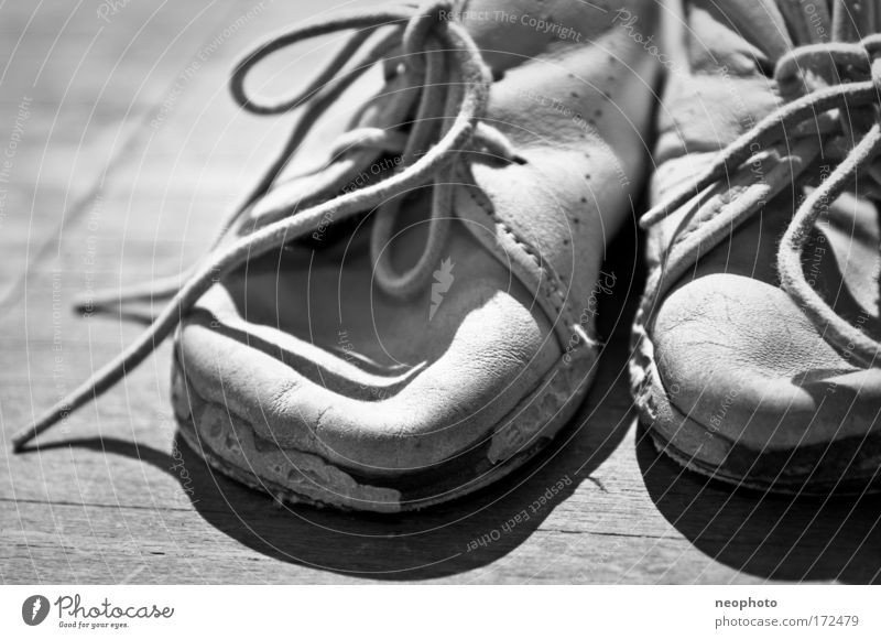 Emotions Fashion Infancy Footwear Hiking Study Future Transience Past Joie de vivre (Vitality) Leather Experience Jogging Peaceful Things Humanity
