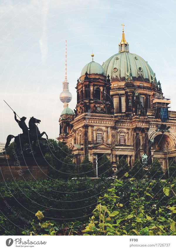 Berlin in a nutshell Sculpture Architecture Berlin TV Tower Downtown Berlin Capital city Dome Manmade structures Building Museum Museum island