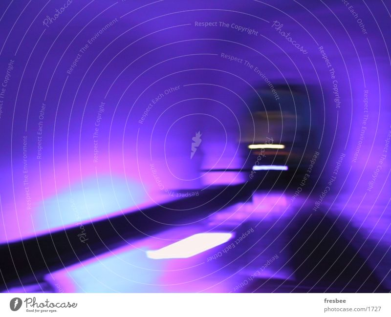 icetunnel Violet Tunnel Glacier Underground Photographic technology Colour Movement Ice Dynamics