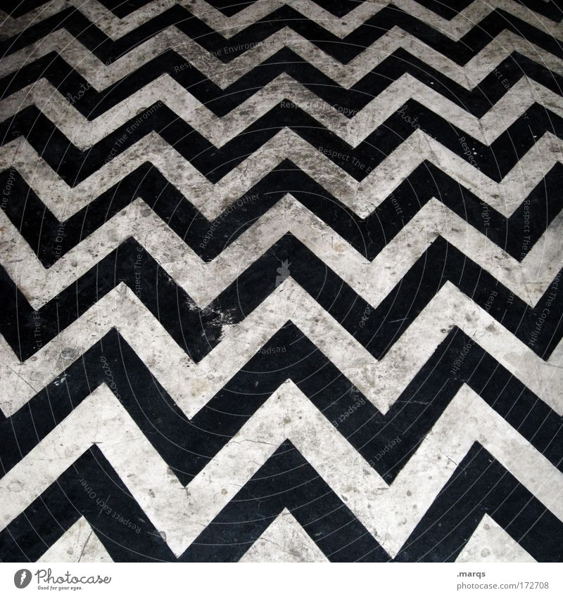 Dirt on the Dancefloor Black & white photo Abstract Pattern Structures and shapes Bird's-eye view Lifestyle Elegant Style Design Line Stripe Dirty Sharp-edged