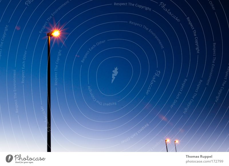 Sky Blue Warmth Lamp Bright Weather Lighting Energy industry Clean Lantern Street lighting Performance Cloudless sky Brilliant Lamp post