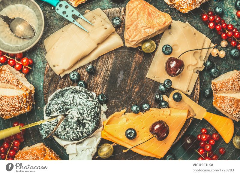 Life Food photograph Eating Style Design Fruit Nutrition Table Breakfast Roll Cheese Rustic Snack Honey Buffet