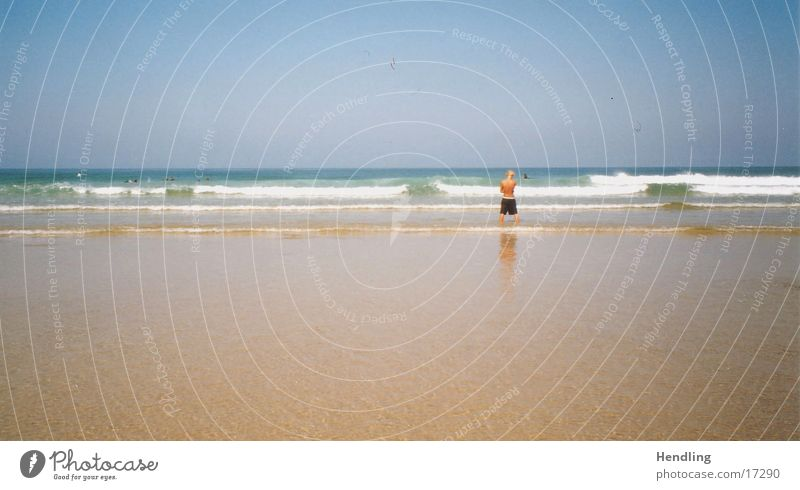 The tide is falling France Waves Physics Summer Europe Yo's in the water. Warmth chill
