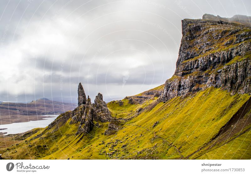 The Old Man of Storr Athletic Well-being Vacation & Travel Tourism Trip Adventure Far-off places Freedom Sightseeing Expedition Mountain Hiking Climbing