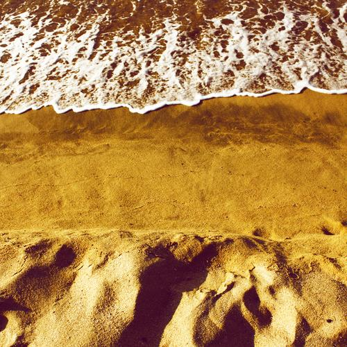 o.t. Colour photo Exterior shot Deserted Copy Space middle Day Summer Summer vacation Sun Beach Ocean Waves Elements Earth Sand Coast Lakeside North Sea