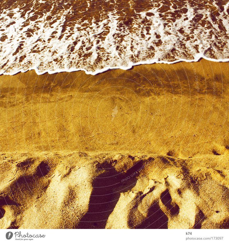 Sun Ocean Summer Beach Sand Coast Waves Earth Fluid Lakeside Elements Baltic Sea North Sea Flow Summer vacation Composing