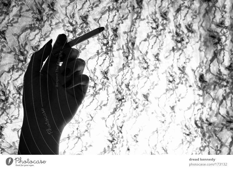 Woman Hand Calm Adults Style Elegant Design Fingers Esthetic Cloth Smoking Serene To enjoy Breathe Rich Identity