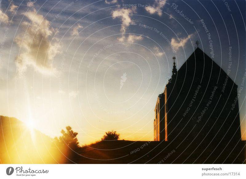 Sky Religion and faith Back House of worship