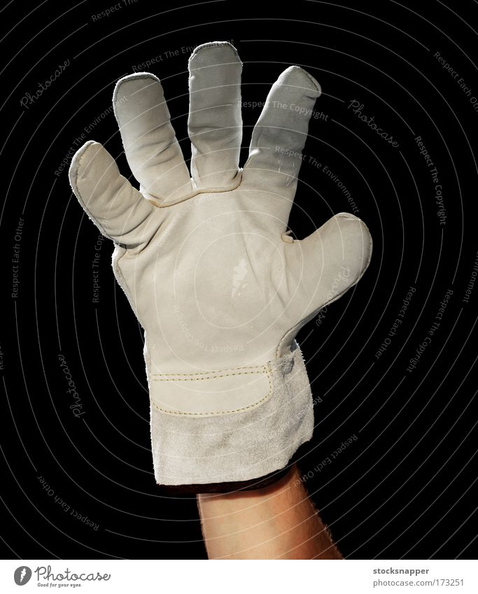Glove Hand Fingers Whimsical Bizarre Strange Gloves Protection Gesture Workwear Protective