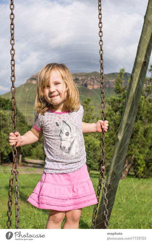 Human being Child Nature Vacation & Travel Summer Landscape Joy Girl Feminine Healthy Playing Laughter Garden Park Infancy Smiling