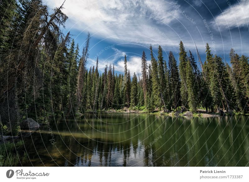 Lost Lake Beautiful Vacation & Travel Tourism Adventure Summer Mountain Environment Nature Landscape Sky Clouds Climate Climate change Weather Beautiful weather