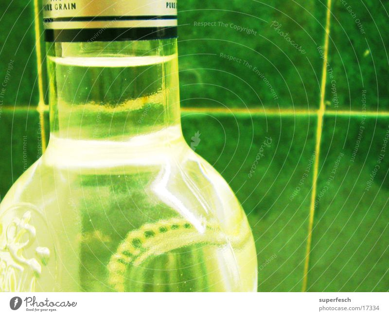 Tile Bottle Alcoholic drinks Neck of a bottle