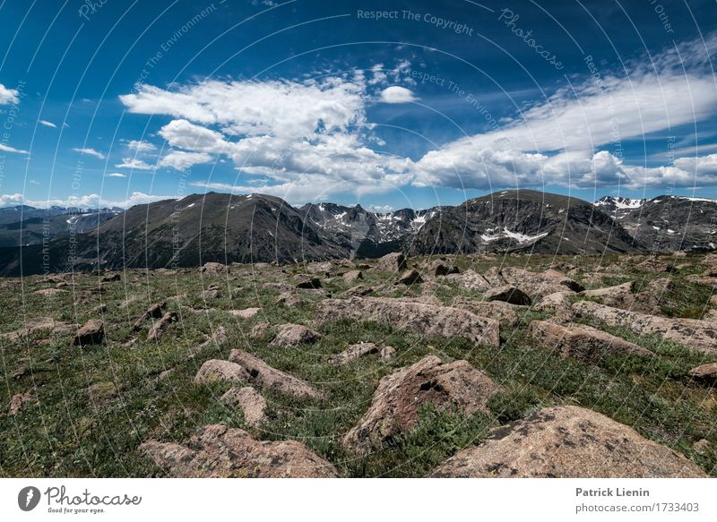Rocky Mountains National Park Beautiful Harmonious Well-being Contentment Senses Vacation & Travel Tourism Adventure Summer Environment Nature Landscape Sky