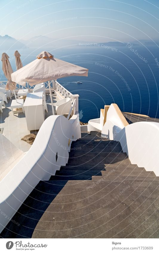 cyclades santorini old town white and the sky Sky Nature Vacation & Travel City Blue Summer Colour Beautiful White Flower Landscape Ocean House (Residential Structure) Mountain Street Architecture