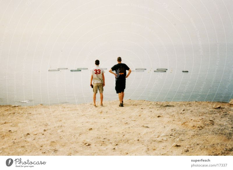 Ocean Sand Coast Europe Observe Fishery Gran Canaria
