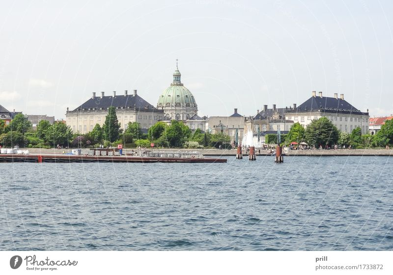 waterside scenery in Copenhagen Tourism Summer House (Residential Structure) Culture Water Coast River bank Town Capital city Skyline Architecture Facade Old