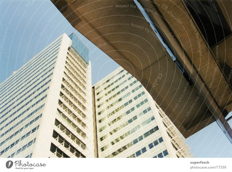 Donaucity Town Vienna High-rise Concrete Architecture Glass