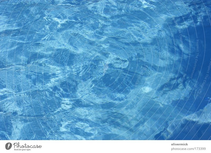 Water Subdued colour Personal hygiene Relaxation Calm Spa Leisure and hobbies Summer Swimming pool Nature Elements Drops of water Dive Fluid Clean Blue Waves
