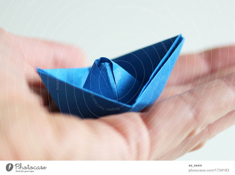 holiday planning Wellness Leisure and hobbies Handicraft Model-making Vacation & Travel Tourism Summer vacation Ocean Navigation Boating trip Sailboat Paper