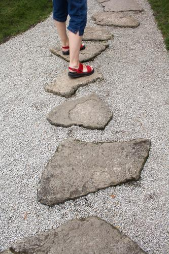 go Going Walking Balance Legs Vacation & Travel Feet Nature Park Lanes & trails Footpath Summer Copy Space Plant Caution Sun Growth Gravel Stone Stony Complex