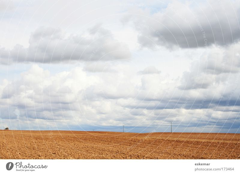 Nature Sky Vacation & Travel Calm Clouds Loneliness Far-off places Freedom Sadness Contentment Moody Field Environment Large Horizon Earth