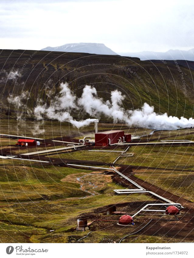 Geothermal power plant Iceland Science & Research Advancement Future Energy industry Renewable energy Environment Nature Earth Climate change Island