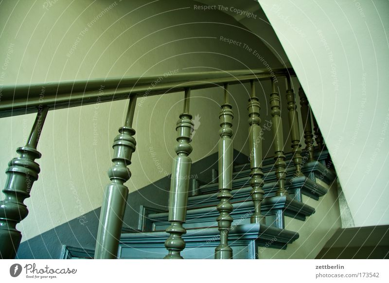 staircase Stairs Banister Wood turning work Turn on the lathe Landing Career Resume Go up Descent Climbing Upward Downward Staircase (Hallway) Level