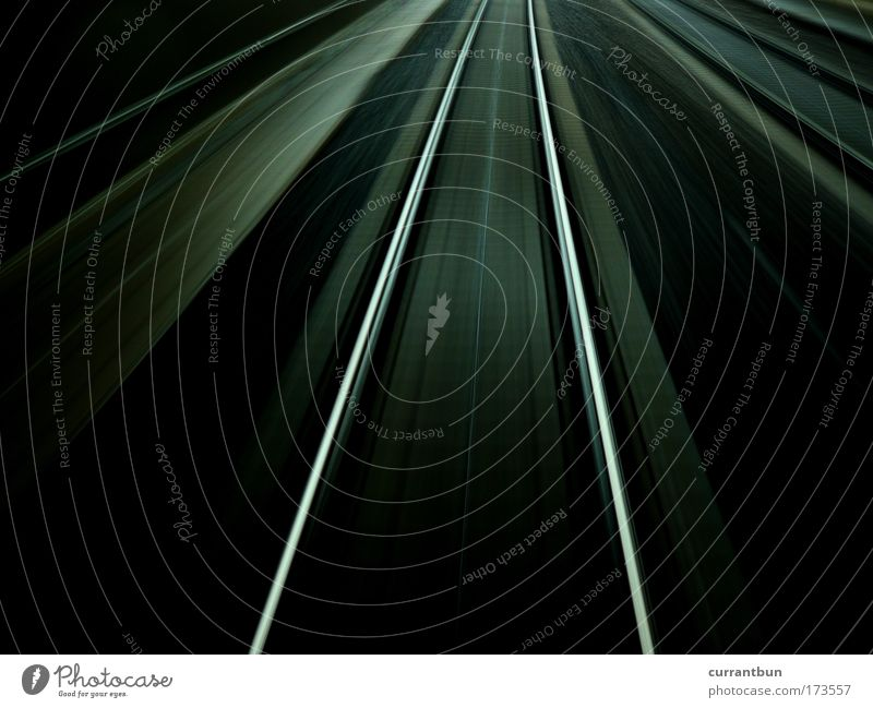 Black Gray Line Railroad Stripe Railroad tracks Silver Abstract Wanderlust Track Driving Train travel Railroad system