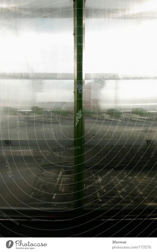 Glass Wind Wait Stand Plastic Transparent Parking Plastic packaging Parking garage Queue Column Acrylic