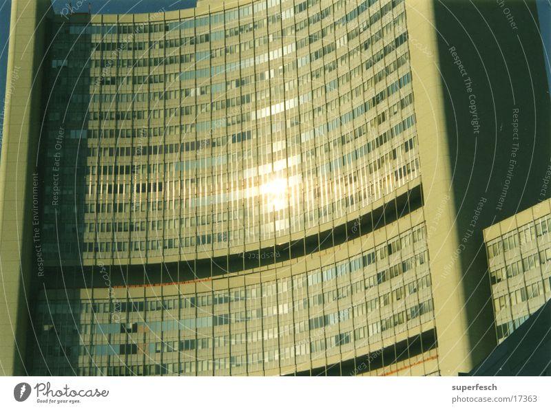 unocity Building Window Glittering Concrete Curved Architecture