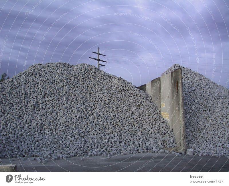 paving stones on stockpile 1 Slagheap Cobblestones Stone